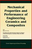 Mechanical Properties and Performance of Engineering Ceramics and Composites : Proceedings of the 29th International Conference on Advanced Ceramics and Composites, Cocoa Beach, Florida, U. S. A. 2005, , 157498232X