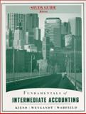 Fundamentals of Intermediate Accounting, Study Guide, Kieso, Donald E. and Weygandt, Jerry J., 047122233X
