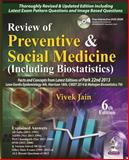 Review of Preventive and Social Medicine (Including Biostatistics), Jain, Vivek, 9351522334