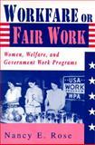 Workfare or Fair Work 9780813522333