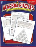 Algebra Puzzles : Build Pre-Algebra and Algebra Skills through Puzzles and Problems, Garcia, Hank, 1591982332