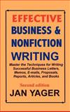 Effective Business and Nonfiction Writing, Yager, Jan, 1889262331