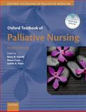 Oxford Textbook of Palliative Nursing, Ferrell, Betty and Coyle, Nessa, 0199332347