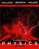 Fundamentals of Physics : EGrade Plus Stand-Alone Access, Halliday, David and Resnick, Robert, 0471332348