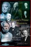 Britain's Prime Ministers, Treasure, Geoffrey and Ellis, Roger, 0856832340