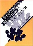 Psychoanalytic Perspectives on the Rorschach, Lerner, Paul M., 0881632341