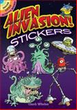 Alien Invasion! Stickers, Chuck Whelon, 0486472345