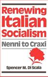 Renewing Italian Socialism 9780195052350