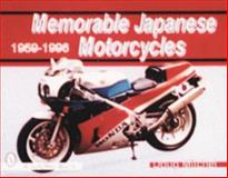 Memorable Japanese Motorcycles, 1959-1996, Doug Mitchel, 0764302353