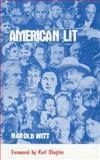 American Lit, Harold Witt, 0912592354