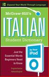 McGraw-Hill's Italian Student Dictionary for Your iPod, Dioguardi, Raffaele A., 0071592350