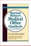 Merriam Webster's Medical Office Handbook, Merriam-Webster, Inc. Staff and Delmar Learning Staff, 0877792356