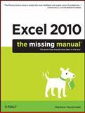 Excel 2010, MacDonald, Matthew, 1449382355