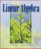 Introduction to Linear Algebra, DeFranza, James and Gagliardi, Daniel, 0073532355