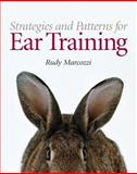 Strategies and Patterns for Ear Training, Marcozzi, Rudy T., 0131872354