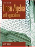 Linear Algebra with Applications, Williams, Gareth, 0763732354