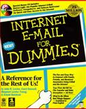 Internet E-Mail for Dummies, Levine, Laura, 156884235X
