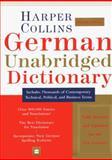 HarperCollins German Unabridged Dictionary, Peter Terrell, 0062702351