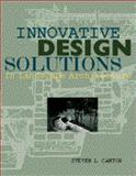 Innovative Design Solutions in Landscape Architecture, Cantor, Steven L., 0442012357