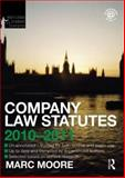 Company Law Statutes 2010-2011, Moore, Marc, 0415582369