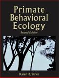 Primate Behavioral Ecology, Strier, Karen B., 0205352367