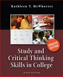 Study and Critical Thinking Skills in College, McWhorter, Kathleen T., 0321492366