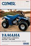 Yamaha YFM80 Moto-4, Badger and Raptor 2001-2008, Clymer Publications Staff, 1599692368
