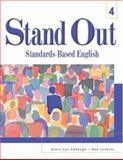 Stand Out 4 : Standards-Based English, Sabbagh, Staci Lyn and Jenkins, Rob, 0838422365