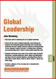 Global Leaders, Nirenberg, J., 184112236X