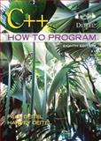 C++ How to Program, Deitel, Paul and Deitel, Harvey, 0132662361