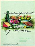 Management by Menu and NRAEF Workbook Package, Kotschevar, Lendal H. and Escoffier, Marcel R., 0471442372