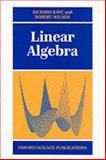 Linear Algebra 9780198502371