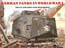 German Tanks in WW I, Werner Haupt, 0887402372