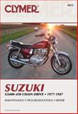 Suzuki GS400-450 Twins, 1977-1987 Chain Drive, Clymer Publications Staff, 0892872373