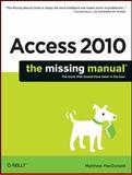 Access 2010, MacDonald, Matthew, 1449382371
