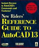 New Riders' Reference Guide to AutoCAD Release 13, Maxey, Randall A., 1562052373