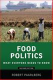 Food Politics, Robert Paarlberg, 0199322384