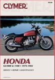 Honda GL1000 and 1100, 1975-1983, Clymer Publications Staff, 0892872381