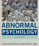 Abnormal Psychology, Davison, Gerald C. and Johnson, Sheri L., 0471692387