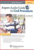 Aspen Audio Guide to Civil Procedure, Glannon, Joseph W., 0735572380
