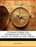 German Poems for Memorizing, Anonymous, 1146252382