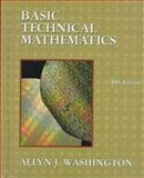 Basic Technical Mathematics, Washington, Allyn J., 0201542382