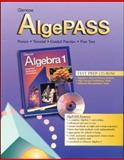 Glencoe AlgePass for Use with Algebra 1, McGraw-Hill Staff, 0028332393