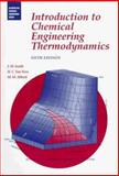 Introduction to Chemical Engineering Thermodynamics 9780070592391