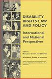 Disability Rights Law and Policy : International and National Perspectives, , 1571052399