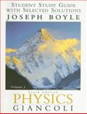 Student Study Guide with Selected Solutions, Boyle, Joseph and Boyle, Joe, 013035239X