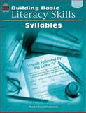 Building Basic Literacy Skills - Syllables, Gilly Czerwonka and Folens, 0743932390
