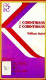 First and Second Corinthians, William Baird, 0804232393