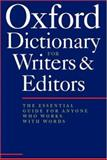 The Oxford Dictionary for Writers and Editors, Ritter, R. M., 0198662394