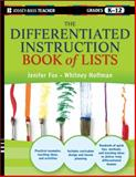 The Differentiated Instruction Book of Lists 1st Edition